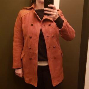 70's 90's style vintage trench coat Joseph Magnin